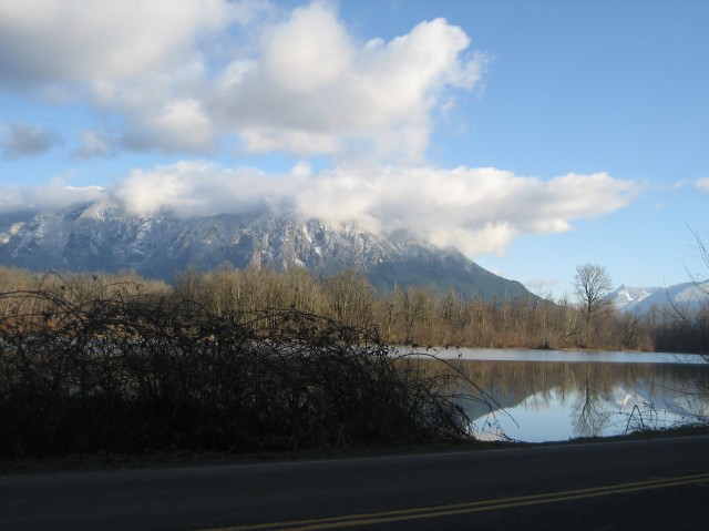 Mountain and Millpond- by Tommia Wright