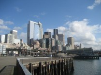 Seattle on the Waterfront-2010 by Tommia Wright