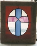 Cross of Glass - created by Tommia Wright