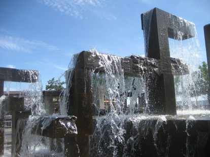 Fountain Fun by Tommia Wright