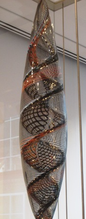 Swirling Glass - Seattle Art Museum - by Tommia Wright