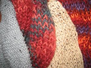 Four Scrawny Scarves by Tommia Wright