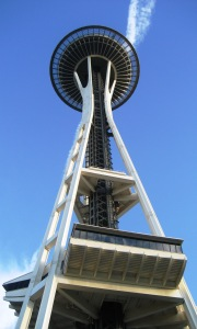 Space Needle 2008 by Tommia Wright