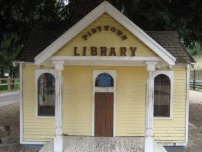 Tiny Town Library by Tommia Wright