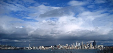 Seattle Skyline, April 2011 by Tommia Wright