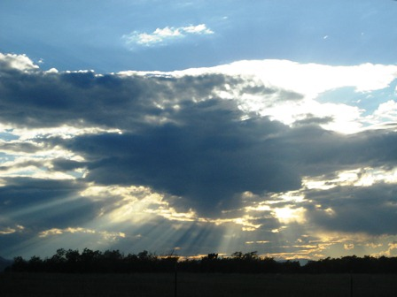 spectacular sun