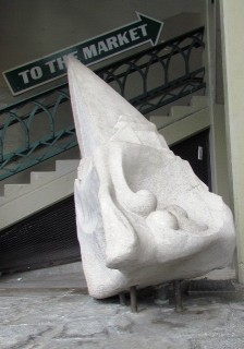 Sculpture along Pike Place Market photo by Tommia Wright
