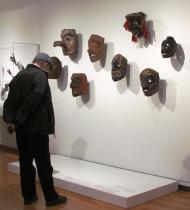 Man and Masks at SAM by Tommia Wright