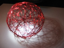 Shadow Ball - Red by Tommia Wright