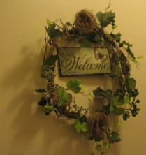 Welcome Wreath by Tommia Wright