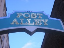 Post Alley 1 by Tommia Wright