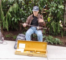 Musician at the Center 1 by Tommia Wright