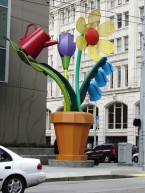 Corner Flowerpot by Tommia Wright