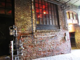 Gum Wall 1 by Tommia Wright