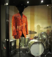 Jimi Hendrix outfit and drums by Tommia Wright