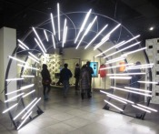 Light Tunnel at the EMP by Tommia Wright