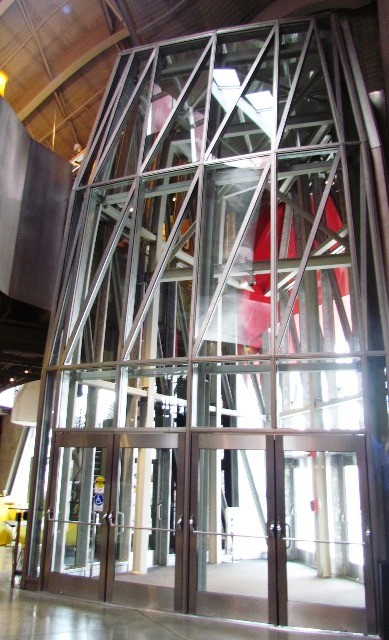 Looking out from the EMP by Tommia Wright