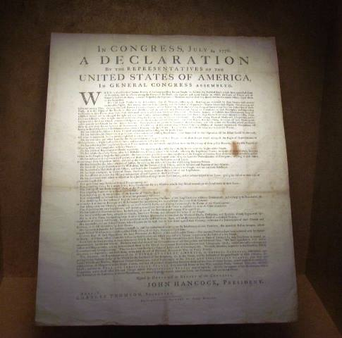 Declaration of Independence at DPL by Tommia Wright