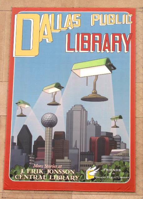 Dallas Public Library by Tommia Wright