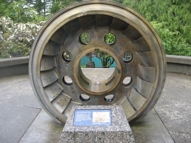 Power Wheel at the Falls by Tommia Wright