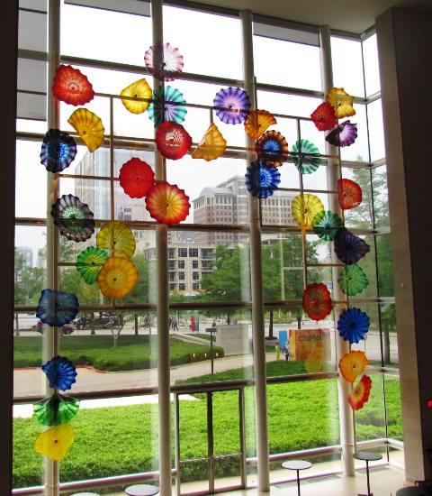 Chihuli at DMA by Tommia Wright