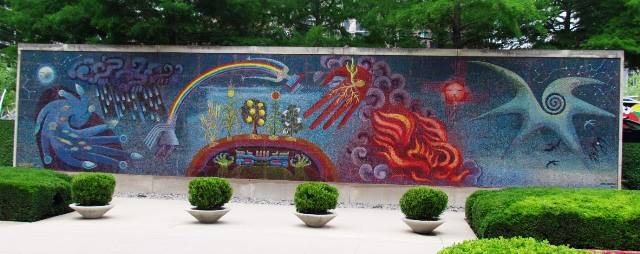 Mural at DMA by Tommia Wright