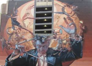 Music Mural in Dallas by Tommia Wright