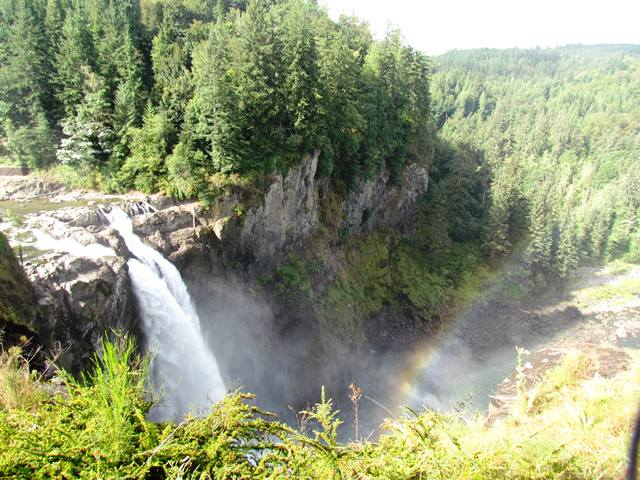 Falls and the Rainbow by Tommia Wright