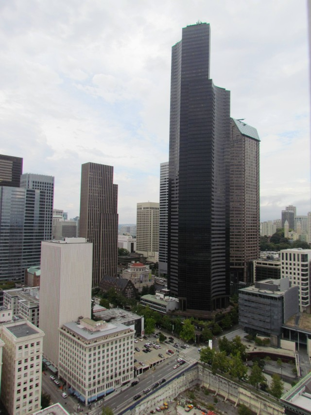 Columbia Tower from the Smith Tower by Tommia Wright