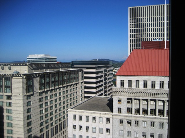 Portland from the Hilton by Tommia Wright