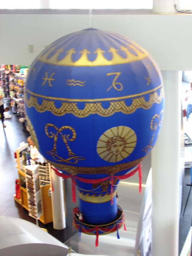 The Montgolfier Brothers Balloon by Tommia Wright