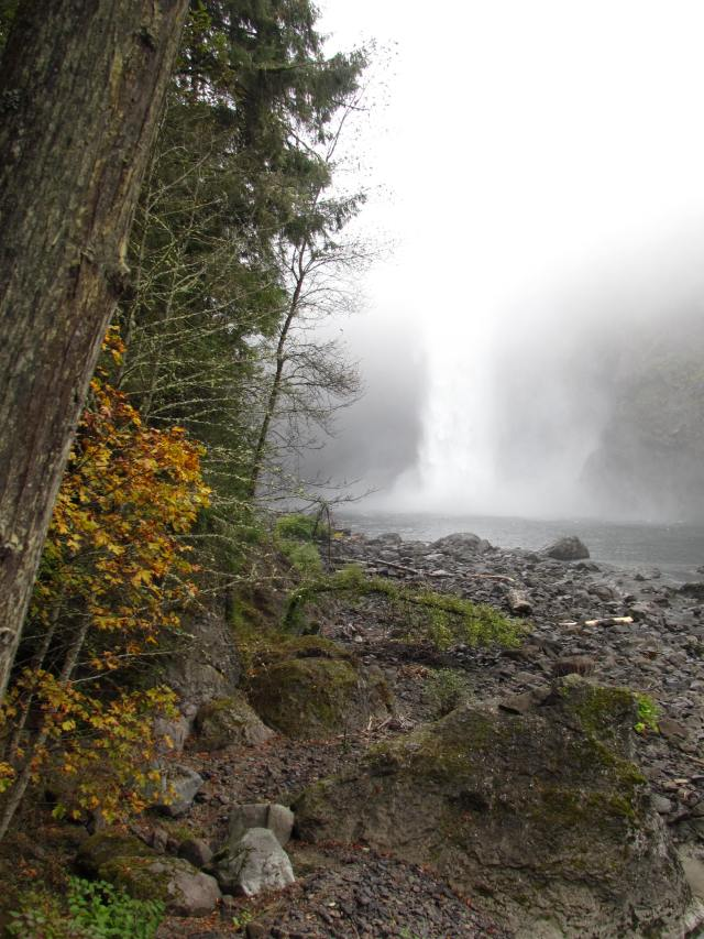 Falls in the Fall Fog