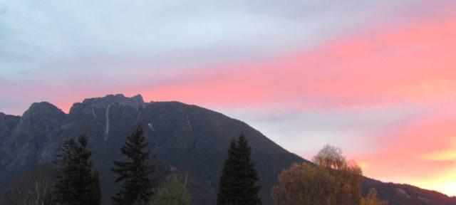 Mt. Si at Sunrise