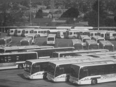 bus lot