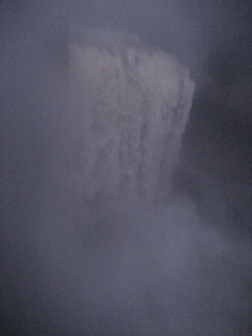 Snoqualmie Falls the Night of Heavy Rains