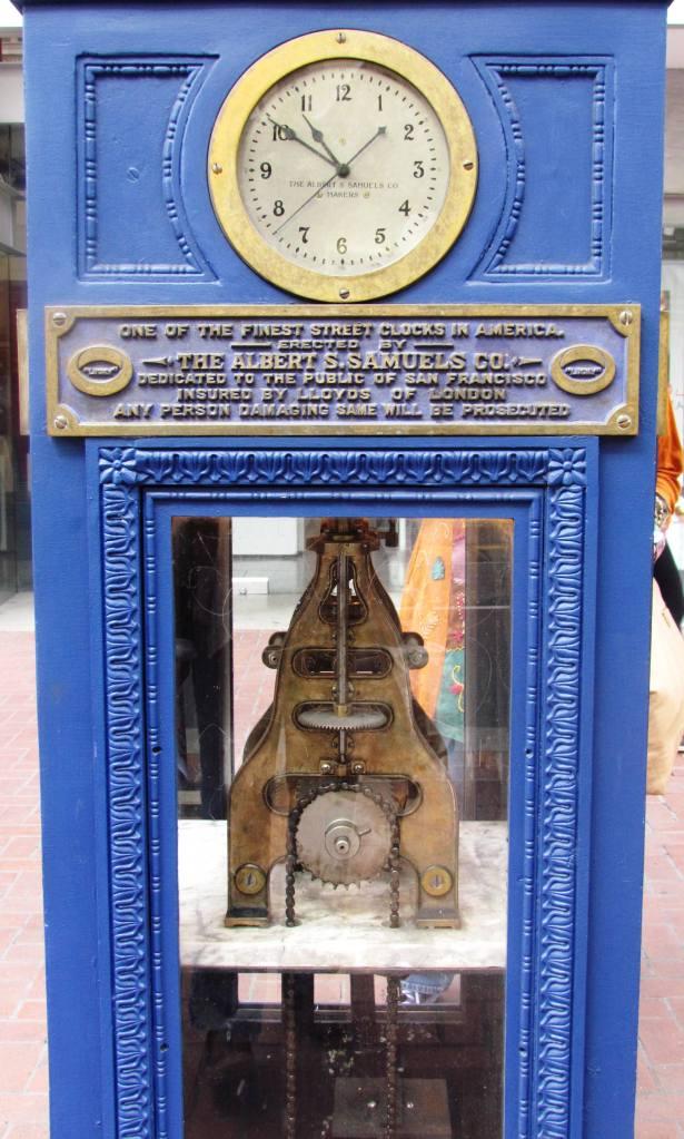 Street Clock in San Fran