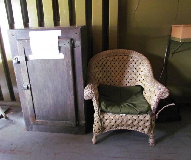 train chair