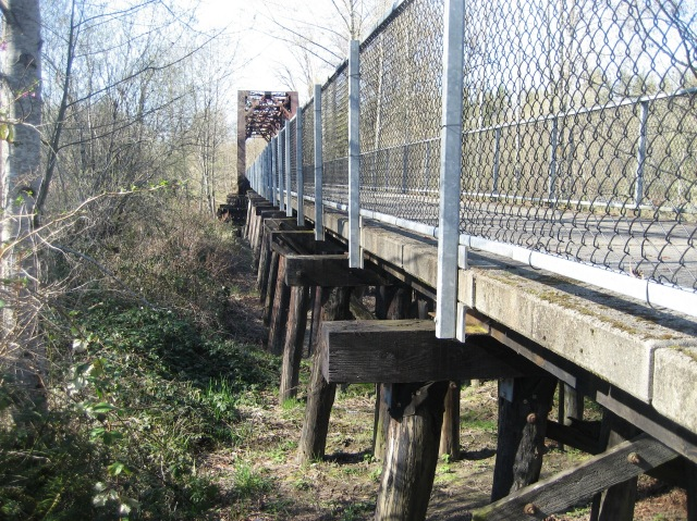 Fenced Bridge