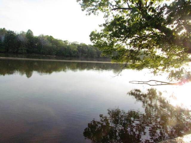 Reflection on the Rappahannock River