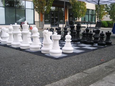 monday moment - chess game