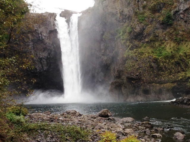 Snoqualmie Falls in the Fall