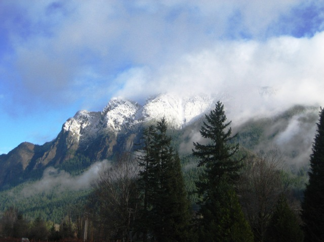 Mount Si Christmas Day 2014
