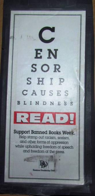 censorship blindess