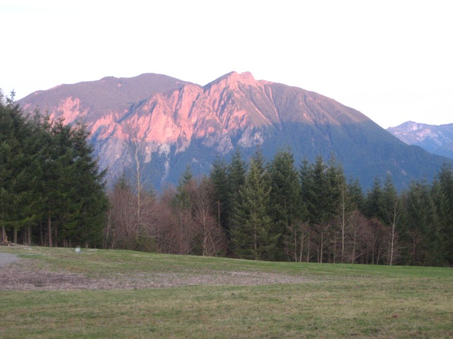 Mt. Si Sunset