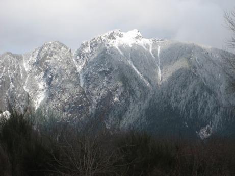 Mt. (Sigh) in Spring