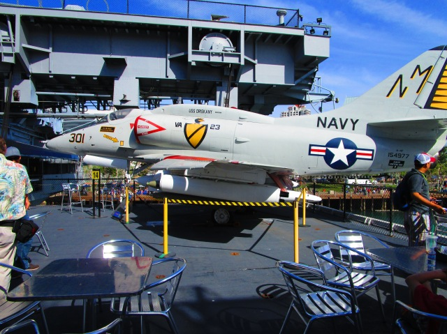 On the USS Midway