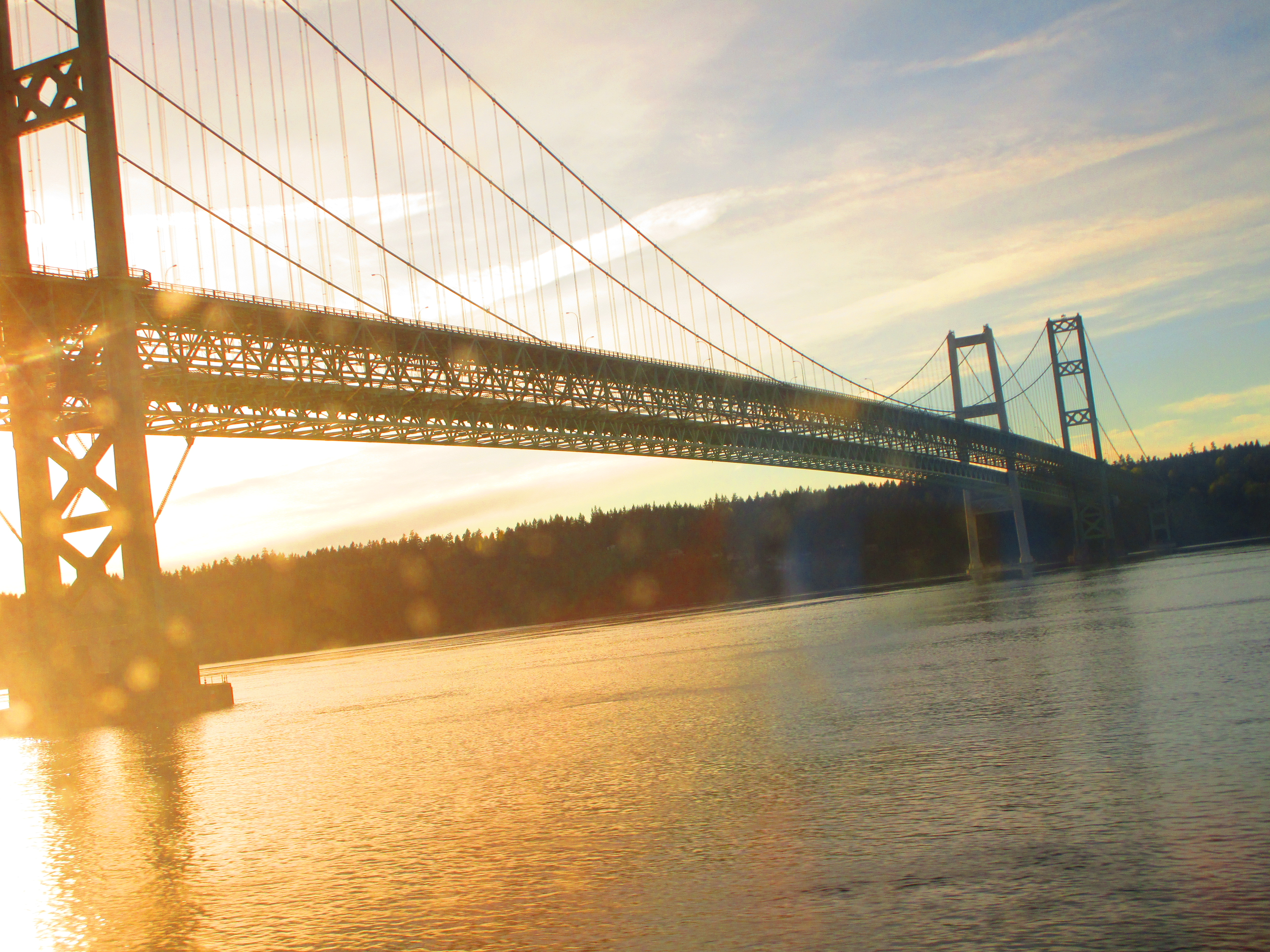 tacoma narrows bridge Tacoma narrows bridge, tacoma, washington 1,690 likes 39,288 were here the tacoma narrows bridge is a pair of twin suspension bridges that span the.