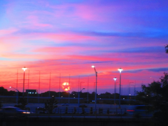 Sunrise at O'Hare 615
