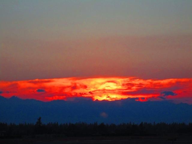 Sunset at SeaTac 615