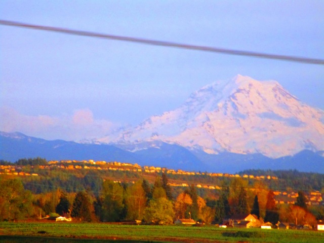 Mount Rainier April 2015